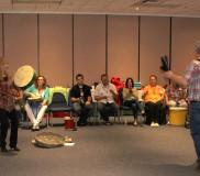 2014 LDI May – Drumming 8 full room
