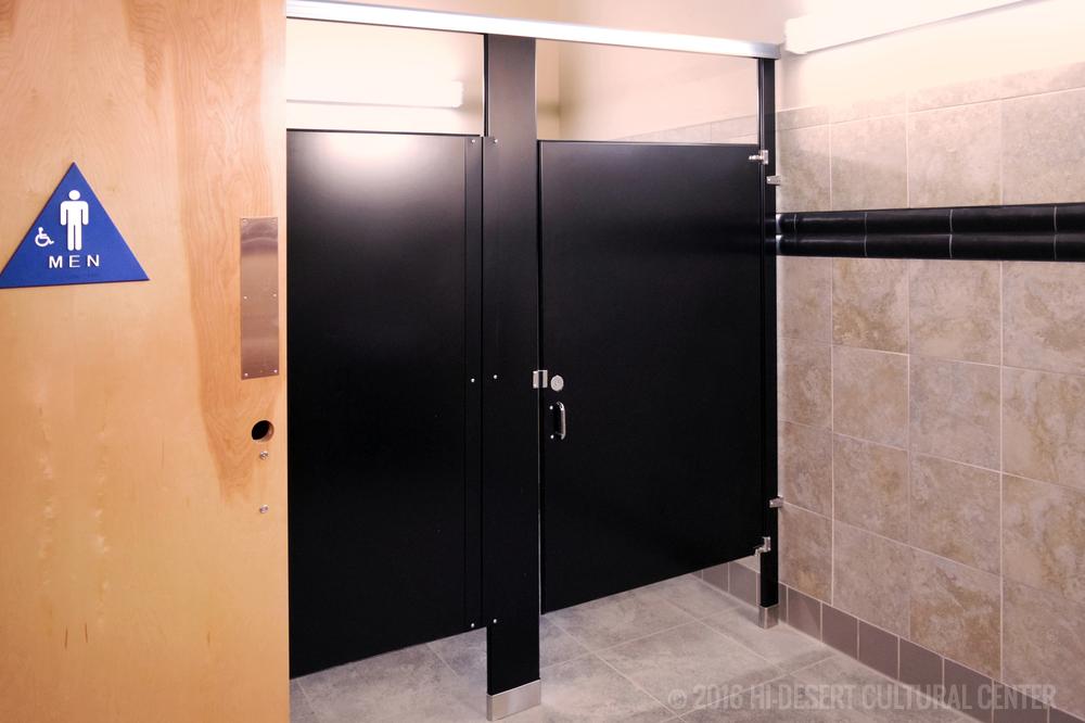 New ADA compliant patron restrooms.