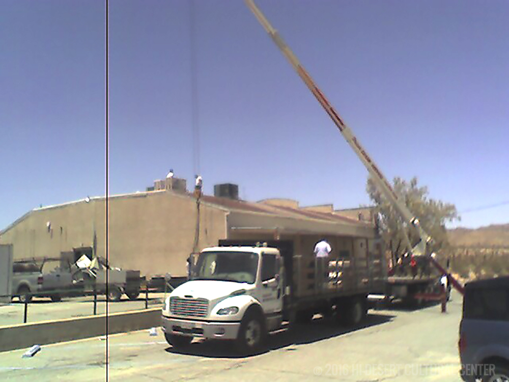 Installing the new roof and 4-zone, whisper-quiet, high-efficiency HVAC system with new ductwork.
