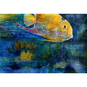 Morris – Ocean Angel-Acrylic-Collage-15 x 23-1600_result