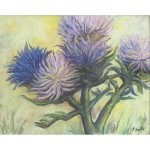 Scott_ Artichoke in Bloom_ pastels_ 16x20_400_result