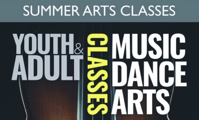 Banner Summer Youth Adult Arts cropped landscape 2