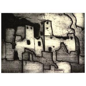 Morris-Anasazi Cliff Dwelling-Giclee-12×16-175