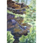 Morris-Sedona Canyon Cliffs-WC-collage-32x25-395