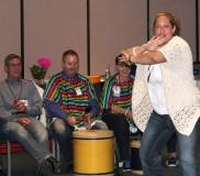 2014 LDI May – Drumming 7 Gretchen Rugerrio