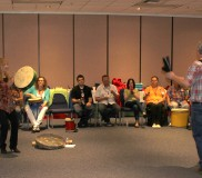 2014 LDI May – Drumming 8 full room
