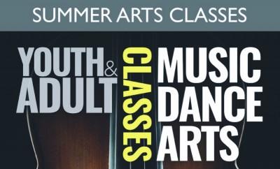 Banner Summer Youth Adult Arts cropped landscape 2