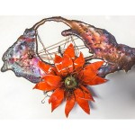 MURPHY - Copper and Cactus Flower - 9x6 - 150