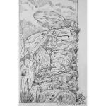 THOMPSON - Gamma Gulch Rock Face - 20x16 - 300