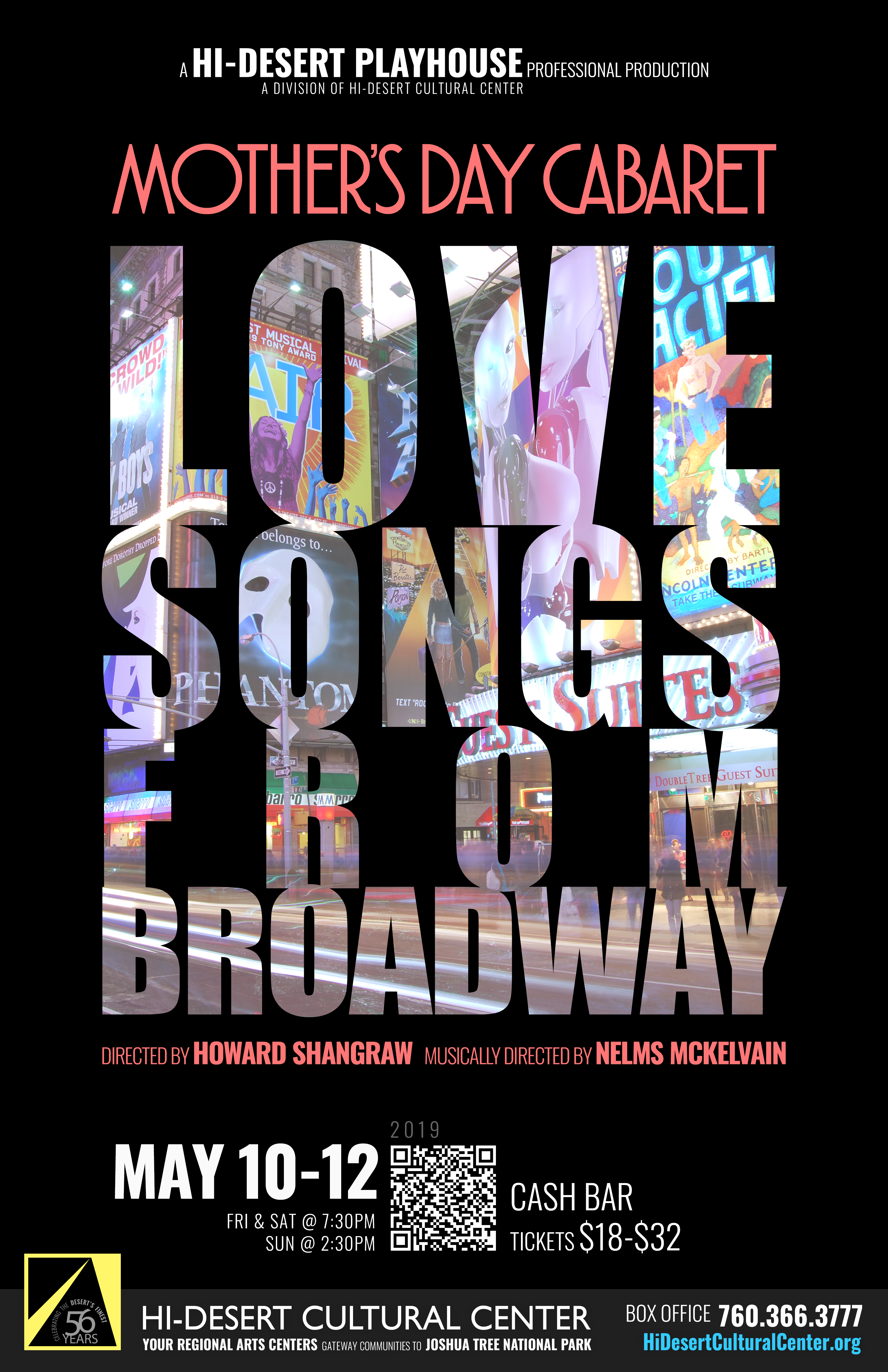 Mother's Day Cabaret—Love Songs From Broadway   May 10-12
